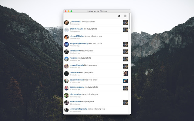 Notifications for Instagram