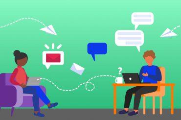 Ferramentas de comunicação empresarial e workplaces