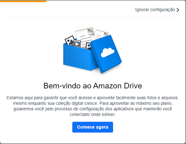Amazon Cloud Drive como configurar