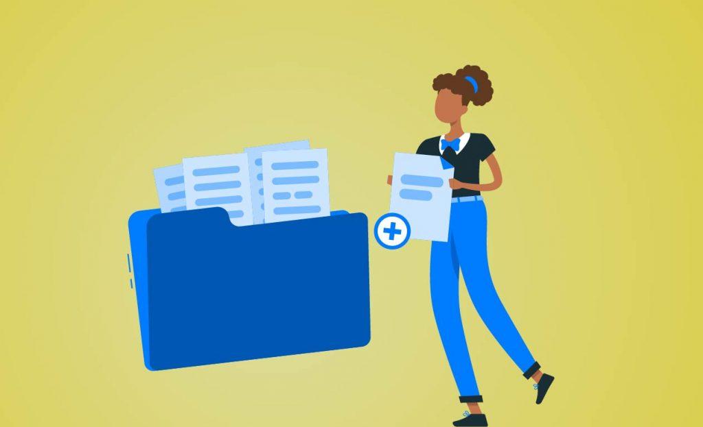 gestão de documentos digitais