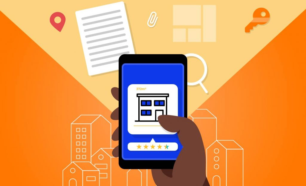 Visibilidade online para imobiliária