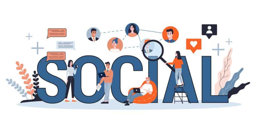 redes sociais pequenas empresas